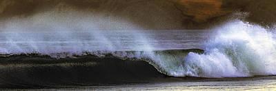 Drakes Beach Break Art Print