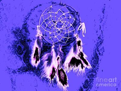 Catcher Mixed Media - Dreamcatcher by Owl's View Studio