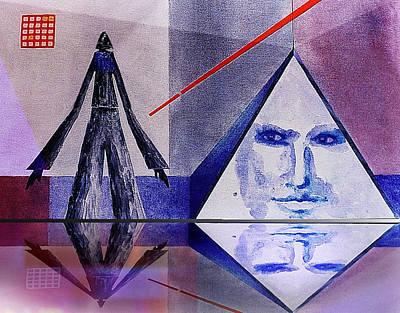 Pyramids Mixed Media - Dream Master by Hartmut Jager