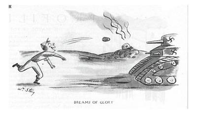 Europe Drawing - Dreams Of Glory by William Steig