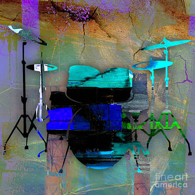 Drums Art Print by Marvin Blaine