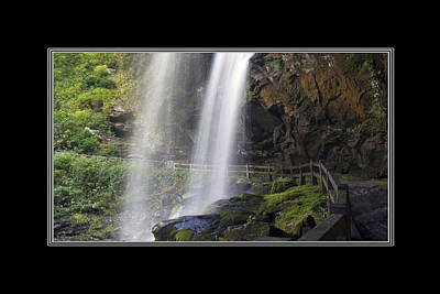 Photograph - Dry Falls North Carolina by Charles Beeler