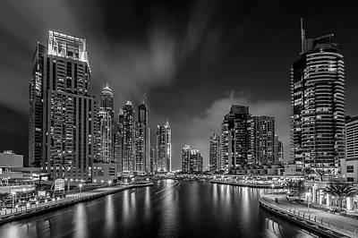 Marina Photograph - Dubai Marina by Vinaya Mohan