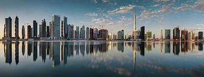 Photograph - Dubai Skyline by Thomas Kurmeier