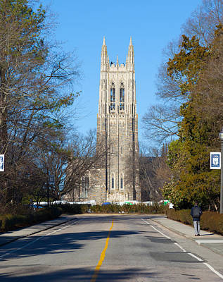 Photograph - Duke Chapel by Melinda Fawver