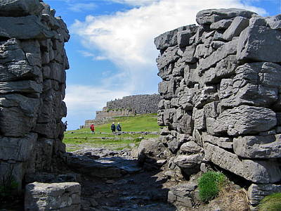 Photograph - Dun Aengus by Denise Mazzocco