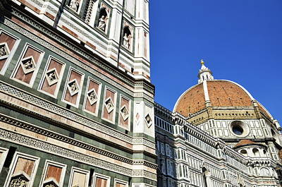 Duomo Santa Maria Del Fiore Art Print by Sami Sarkis