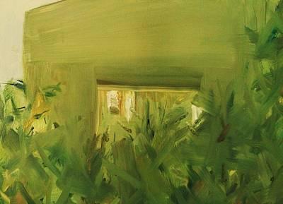 Monochromatic Study Painting - Dusk  by Gary Bruton