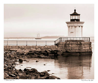 Art Print featuring the photograph Early Morning Bug Light by Richard Bean