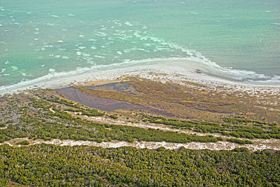 Scenic Photograph - East Coast Aerial Near Jekyll Island by Betsy Knapp