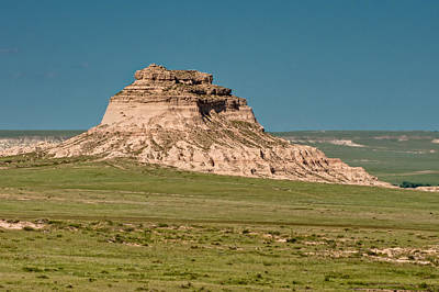 East Pawnee Butte Print by Rich Leighton