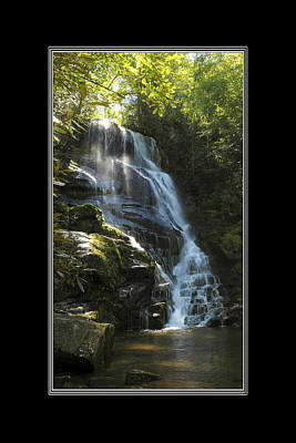 Photograph - Eastatoe Falls North Carolina by Charles Beeler