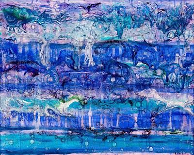 Ebb And Flow Original by Regina Valluzzi