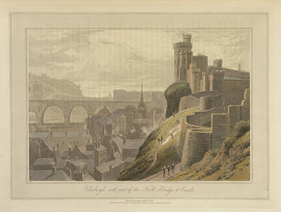 Edinburgh Art Print by British Library