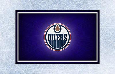 Edmonton Oilers Art Print