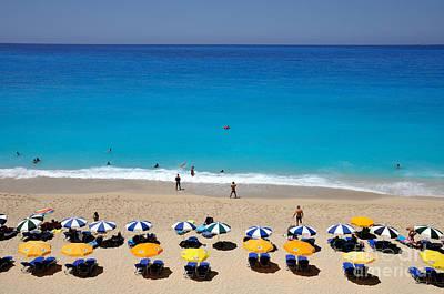 Relaxation Photograph - Egremni Beach by George Atsametakis