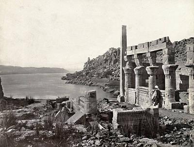 Egypt Island Of Philae Art Print by Granger