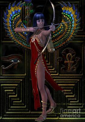 Horus Digital Art - Egypt  Myths And Legends by Shadowlea Is