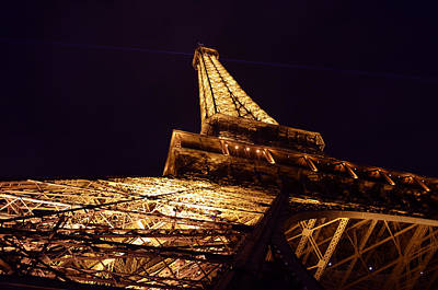 Photograph - Eiffel Tower Paris France by Patricia Awapara