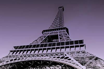 Eiffel Tower Art Print by Stephanie Hamilton