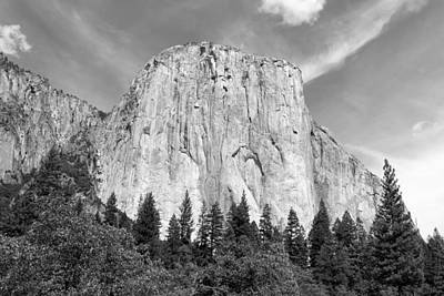 Photograph - El Capitan by John M Bailey