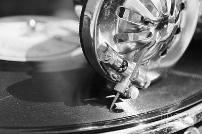Classic Audio Player Photograph - Elder Gramophone Head by Aleksey Tugolukov