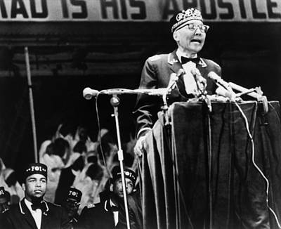 Photograph - Elijah Muhammad (1897-1975) by Granger