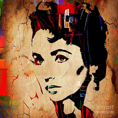 Elizabeth Taylor Mixed Media - Elizabeth Taylor Collection by Marvin Blaine