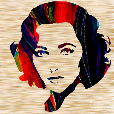 Movie Stars Mixed Media - Elizabethtaylor by Marvin Blaine