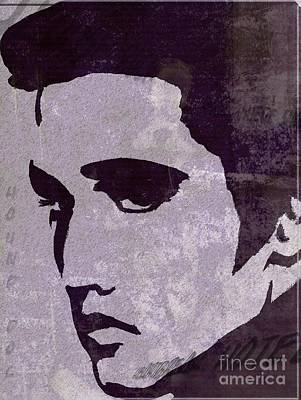 Painting - Elvis  by Jessie Art