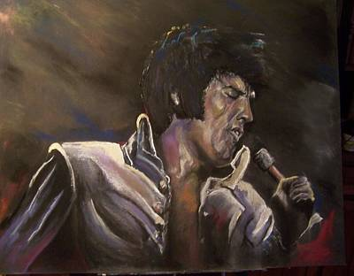Mixed Media - Elvis by Peter Suhocke