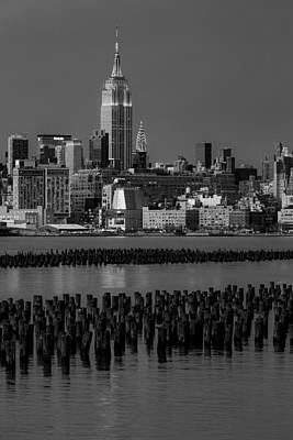 Skylines Photograph - Empire State Building Dressed Up In Pastels by Susan Candelario