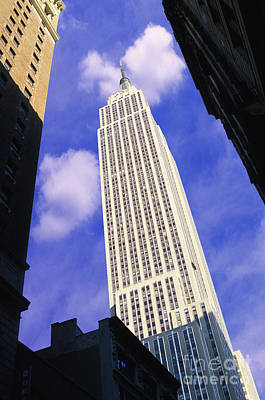 Empire State Building Mixed Media - Empire State Building by Jon Neidert