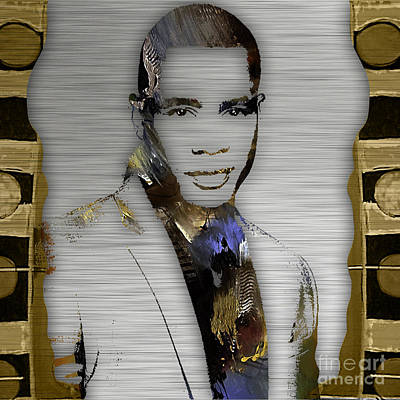 Actors Mixed Media - Empire's Trai Byers Andre Lyon by Marvin Blaine