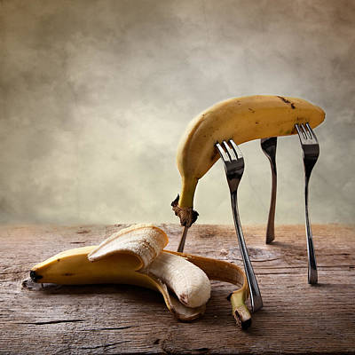 Bananas Photograph - Encounter by Nailia Schwarz