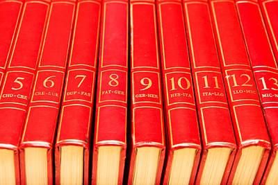 Hardcover Photograph - Encyclopedia by Tom Gowanlock