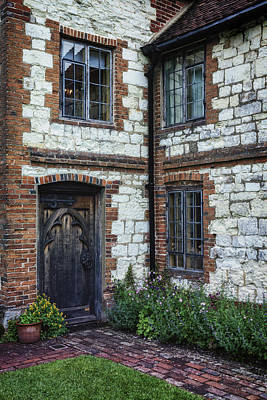 Entrance Door Photograph - English Cottage by Joana Kruse