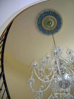 Painting - Entry Chandalier Medallion by Lizi Beard-Ward