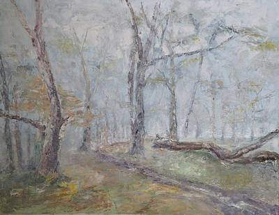 Painting - Epping Mist by David  Hawkins