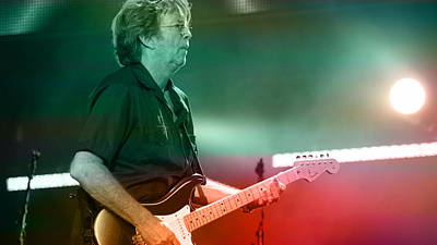 Clapton Digital Art - Eric Clapton by Marvin Blaine