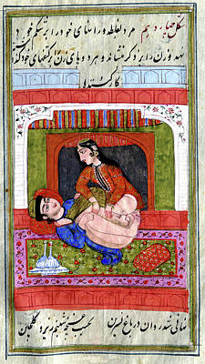 Erotic Indian Story Art Print by Cci Archives