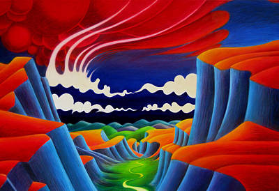 Painting - Escalante by Richard Dennis