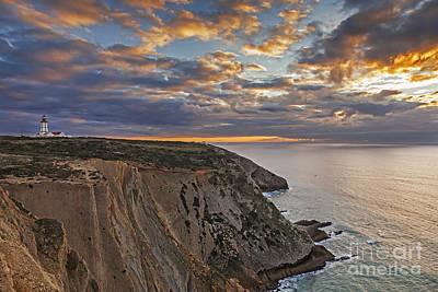 Lighthouse Photograph - Espichel Cape Lighthouse by Jose Elias - Sofia Pereira