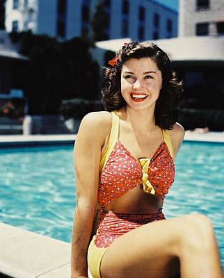 Williams Photograph - Esther Williams by Silver Screen