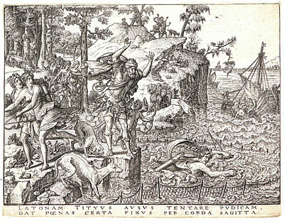Etienne Delaune French, Ca. 1519-1583 After Giovanni Art Print by Litz Collection