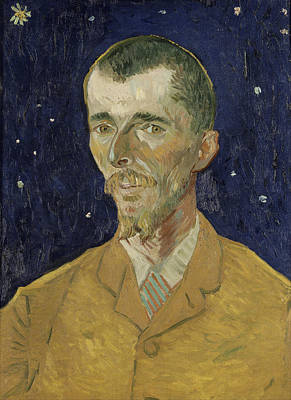 Painting - Eugene Boch by Vincent Van Gogh
