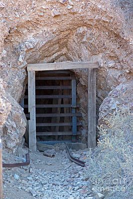 Photograph - Eureka Mine Death Valley National Park by Fred Stearns