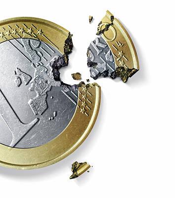 Euro Crisis Art Print by Smetek
