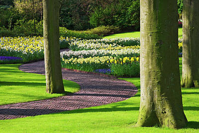 Keukenhof Gardens Photograph - Europe, Holland, Lisse, Keukenhof by Jaynes Gallery