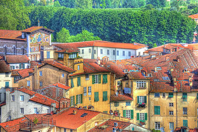 Europe, Italy, Lucca Art Print